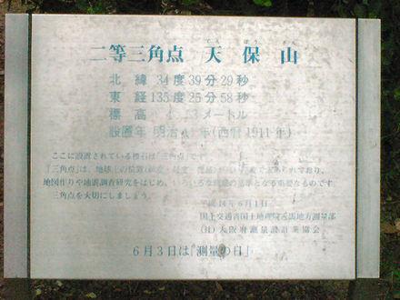 三角点の標識