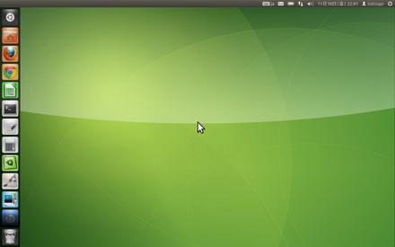 Ubuntu 11.10 Unity-2D画面