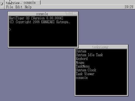HariTiger OS Ver.0.0.4