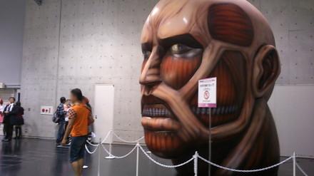 超大型巨人 頭部