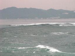 海面の段差