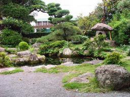 武家屋敷の庭