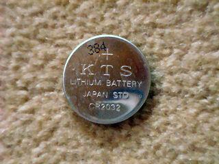 旧バックアップ電池