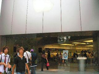 Apple Store 入り口