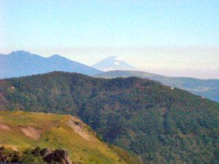 富士山と八ヶ岳