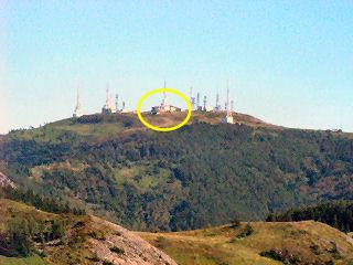 山頂に建つホテル
