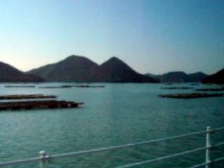 日生湾を望む
