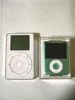 新旧iPod比較