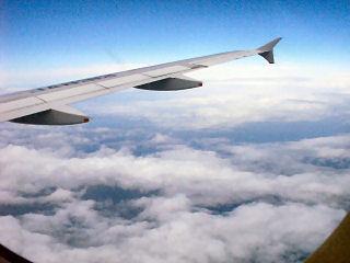 初めての空の旅