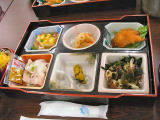 1日目の昼食