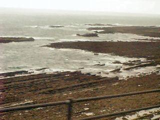 日南海岸の波状岩