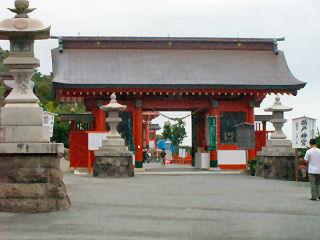 鵜戸神宮 神門