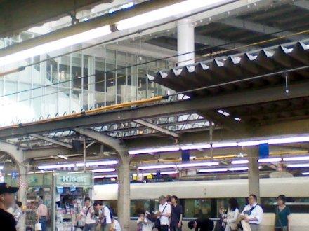 大阪駅5番ホームより