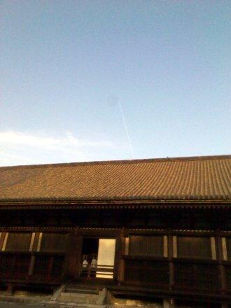 飛行機雲とともに