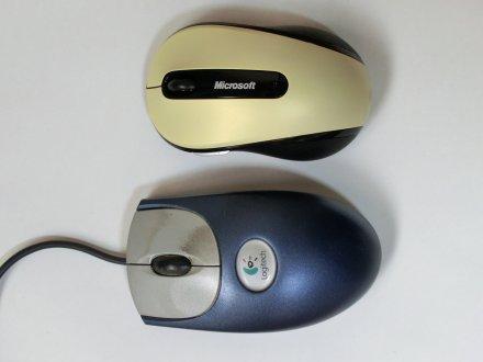 新旧マウスの大きさを比較