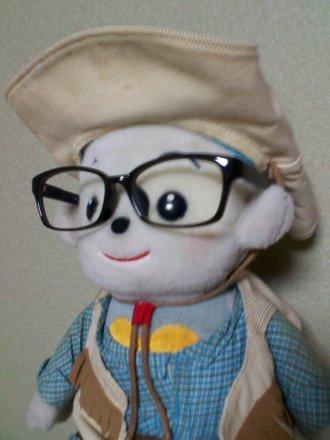 メガネをかけた福ちゃん