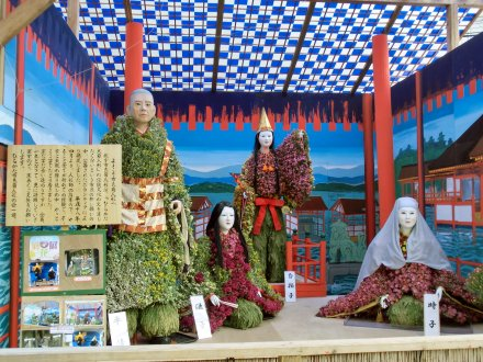 市民菊人形 厳島神社