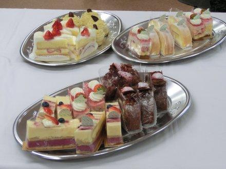 ケーキがいっぱい
