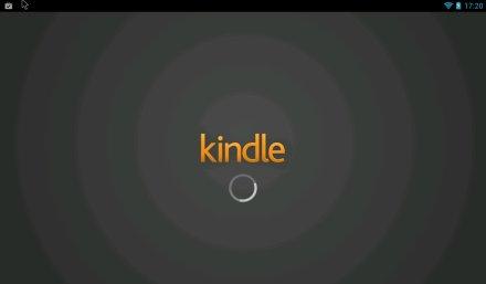 Kindle を起動したところ