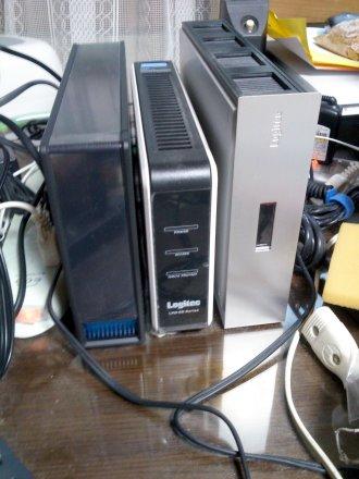 3つの世代の HDD