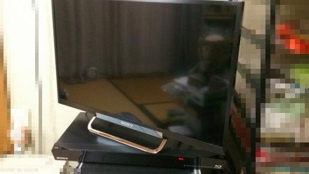 液晶TVとBDレコ