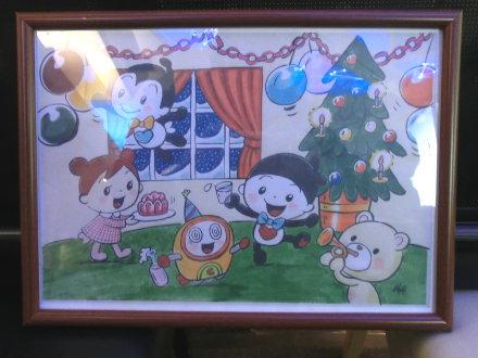クリスマスパーティーのパネル