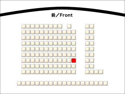スクリーン2座席図